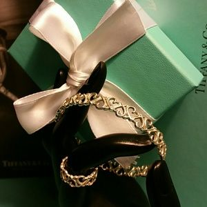 Retired Tiffany & Co. Loving Hearts Bracelet/Ring